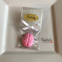 12 BRAIN Chocolate Candy Party Favors
