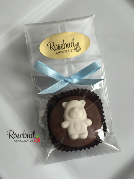 12 BEAR Chocolate Covered Oreo Cookie Candy Party Favors