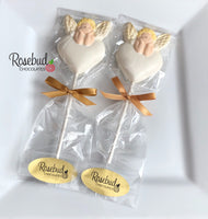 12 ANGEL CHERUB Chocolate Religious Candy Party Favors