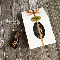 Milk Chocolate Caramel TOFFEE BITES Gift Box