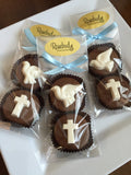 8 Pairs DOVE & CROSS Chocolate Covered Oreo Cookie Candy Party Favors