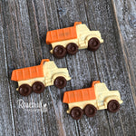 12 DUMP TRUCK Chocolate Candy Birthday Party Favors