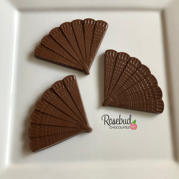 12 FAN Chocolate Candy Party Favors