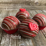 4 Pack HOT CHOCOLATE COCOA BOMBS Marshmallow HEART Holiday Gift