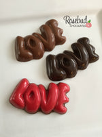 12 LOVE Chocolate Candy Valentine's Day Wedding Party Favors