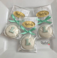 "12 LETTER ""L"" Chocolate Covered Oreo Cookie Candy Party Favors"