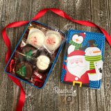 2 TINS with 15 Individually Sealed Chocolate Covered Oreo Cookies Christmas Assortment