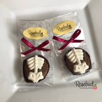 12 SPINE Chocolate Covered Oreo Cookie Candy Party Favors