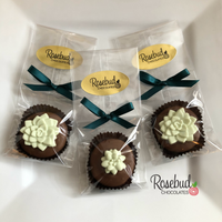 12 SUCCULENT Chocolate Covered Oreo Cookie Candy Party Favors