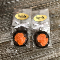 12 TURKEY Chocolate Covered Oreo Cookie Thanksgiving Party Favors