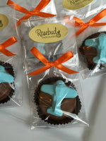 12 AIRPLANE Chocolate Covered Oreo Cookie Candy Party Favors