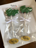 12 ALLIGATOR CROCODILE Chocolate Lollipops Candy Animal Party Favors