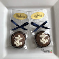 12 ANCHOR Chocolate Covered Oreo Cookie Candy Party Favors