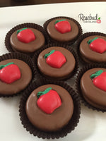 12 APPLES Chocolate Covered Oreo Cookie Candy Party Favors