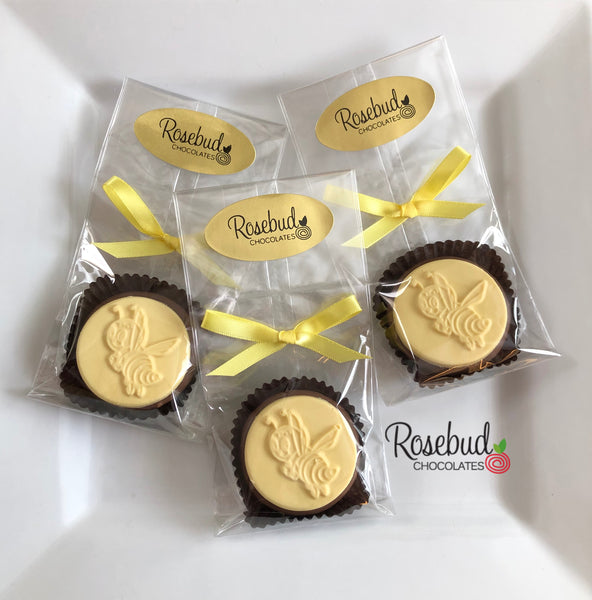 12 BUMBLE BEE Chocolate Covered Oreo Cookie Candy Party Favors