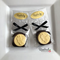12 BEE Yellowjacket Chocolate Covered Oreo Cookie Candy Party Favors