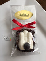 12 BOWLING BALL Chocolate Covered Oreo Cookie Candy Party Favors