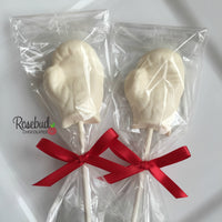 12 BOXING GLOVES Chocolate Lollipop Candy Sports Birthday Party Candy Favors