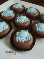12 CRAB Chocolate Covered Oreo Cookie Candy Party Favors