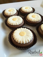 12 DAISY Chocolate Covered Oreo Cookie Candy Party Favors