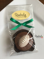 12 FOOTBALL Chocolate Covered Oreo Cookie Candy Birthday Sports Party Favors