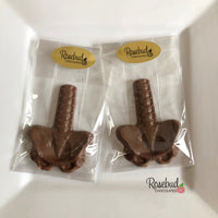 8 SPINE & PELVIC BONE Chocolate Candy Party Favors