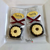 12 SUNFLOWER Chocolate Covered Oreo Cookie Candy Flowers Party Favors