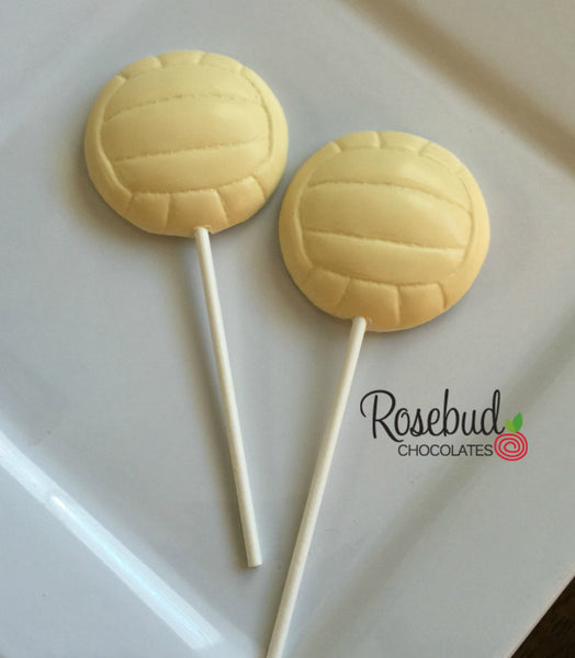 12 WATER POLO Chocolate Lollipop Candy Sports Birthday Party Candy Favors