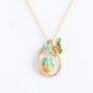 Butterfly Pendant Necklace For Women