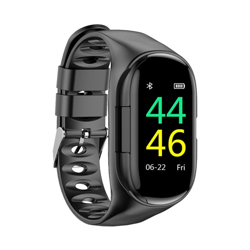 Smart Watch Com Fone de Ouvido Bluetooth