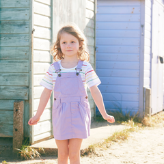 Lilac Denim Dress