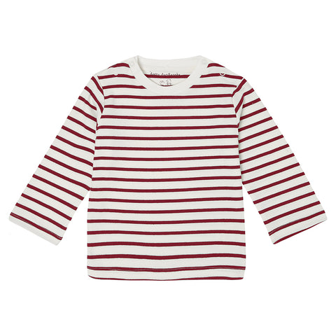 Robin Red Breton Stripe Top