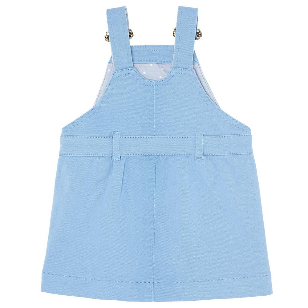 Sky Blue Denim Dress