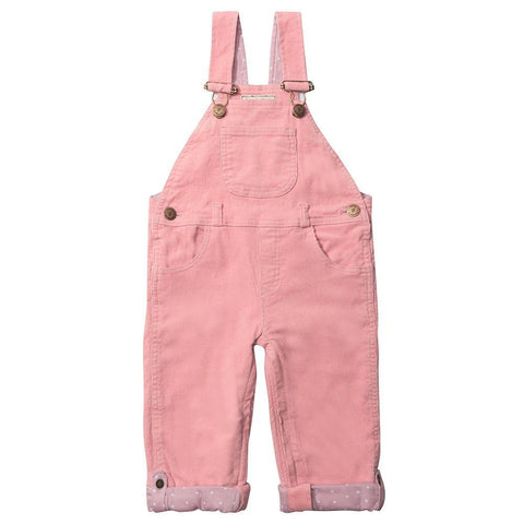 Pink Cord Dungarees