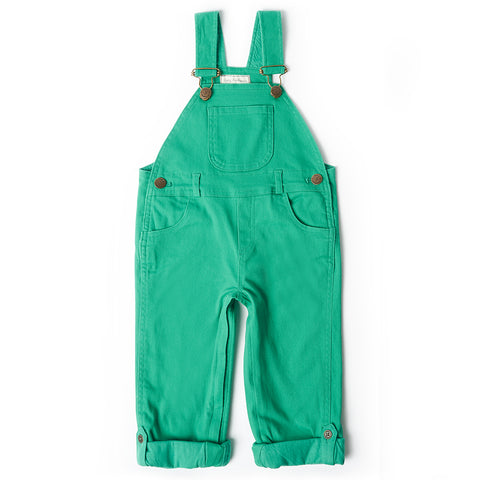 Emerald Denim Dungarees