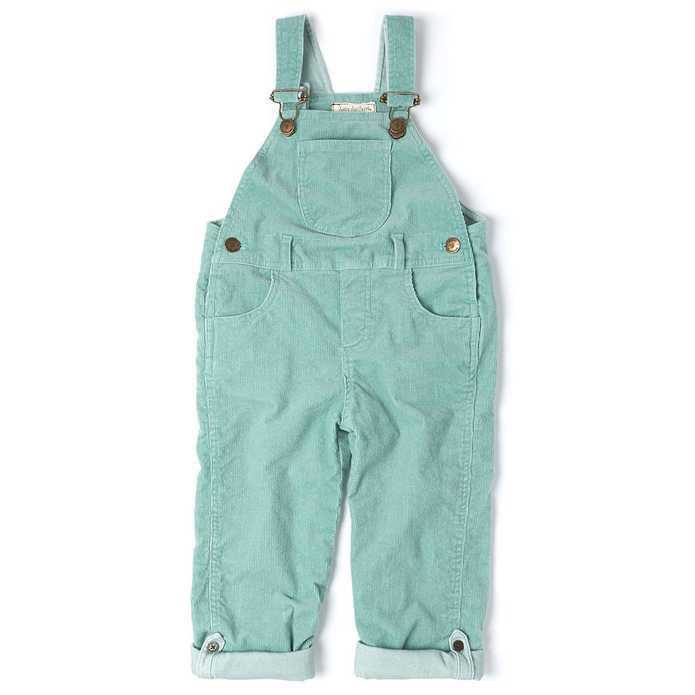 Mint Cord Dungarees