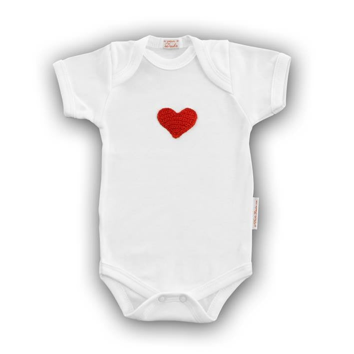 Red Heart Onesie