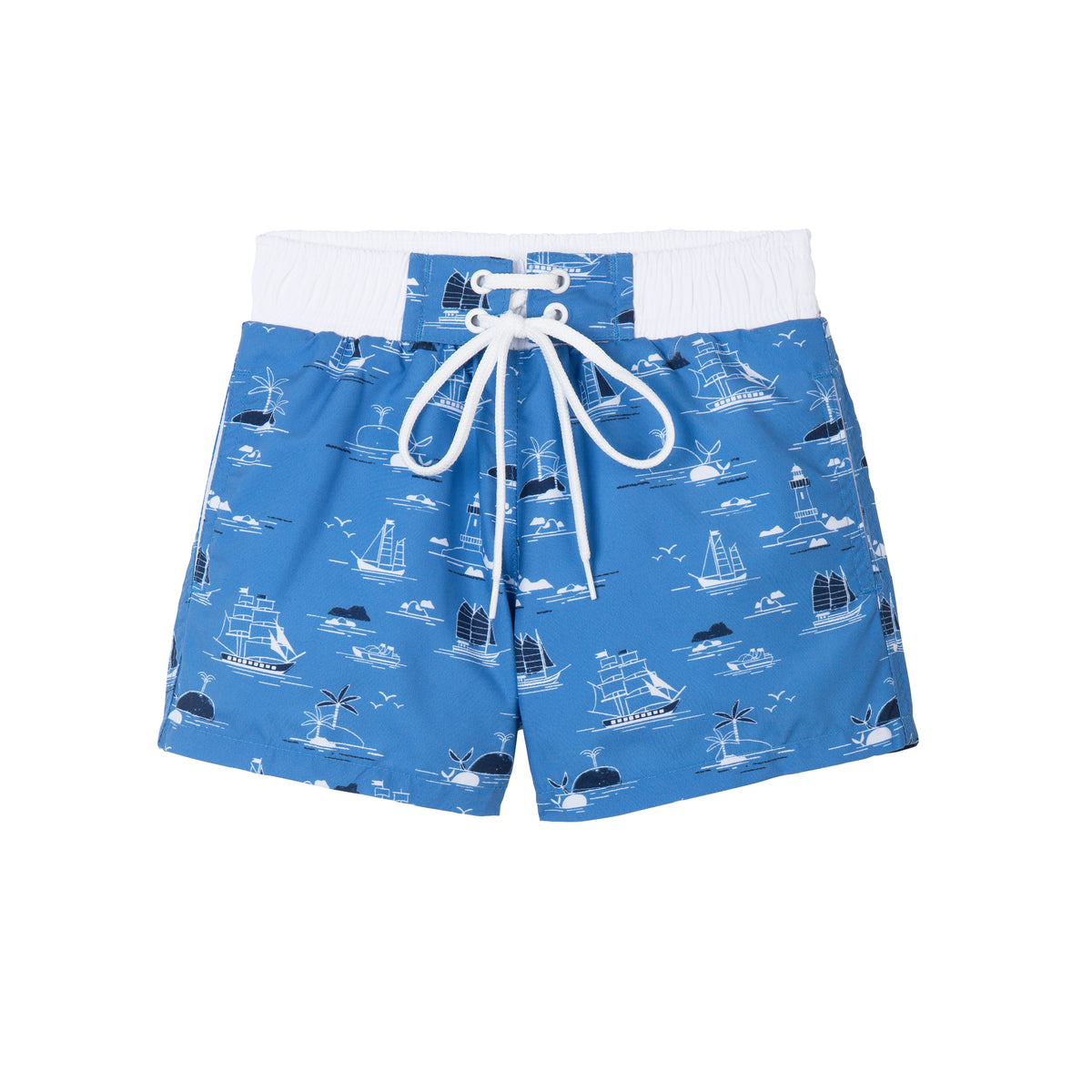 french bathing suit for boys ships whales palm trees babies and toddler bathing suit