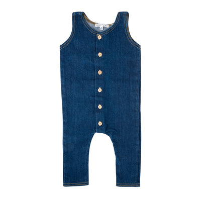 French Denim Romper
