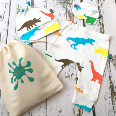 Colour Dino Legs Gift Set