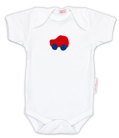 Red Car Onesie For Babies | Gabri Isle