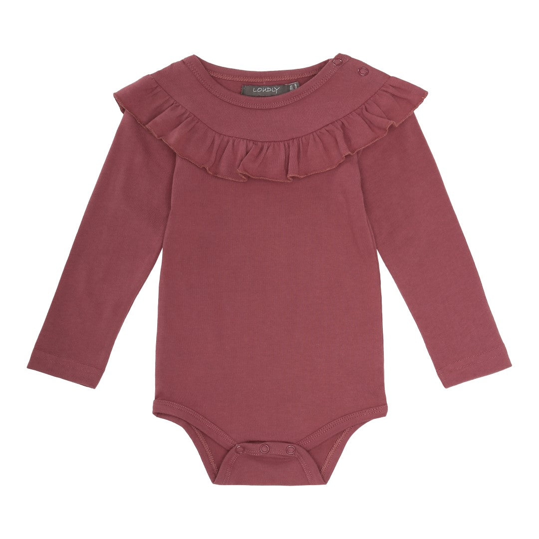 The Tilly Onesie with Ruffles For Baby Girl | Gabri Isle