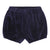 Dark Blue Velour Bloomer Shorts european baby toddler special occasion