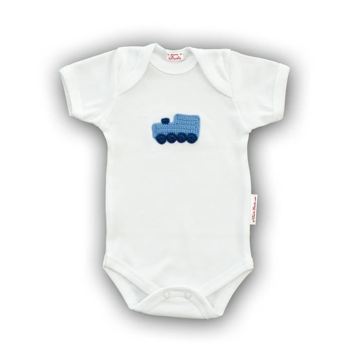Blue Train Onesie