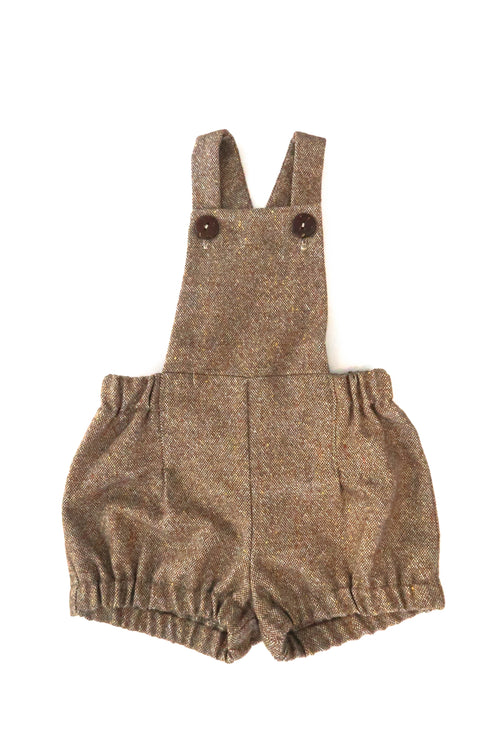 Brown Wool Romper For Babies | Gabri Isle