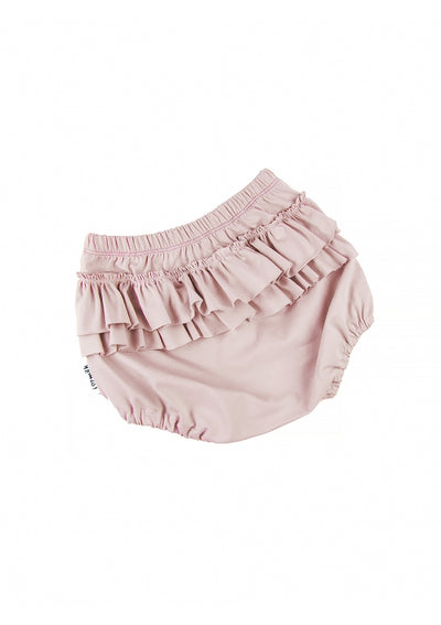 baby ruffle butt pink bloomers