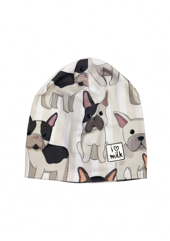french bulldog kids hat