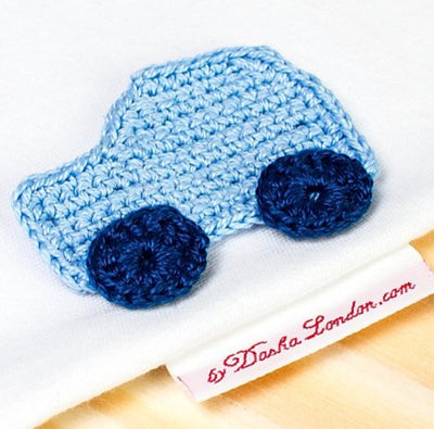 Blue Car Onesie