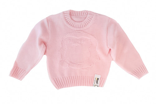 kids penguin knit sweater