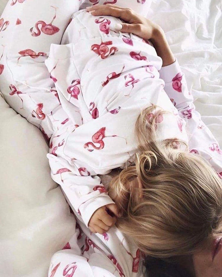 Flamingo Trousers for Mom | Gabri Isle